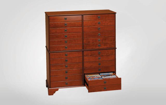 Dean Watts Twelve drawer, double height, double width storage cabinet