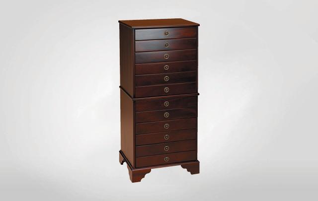 Dean Watts Six drawer tall storage cabinet