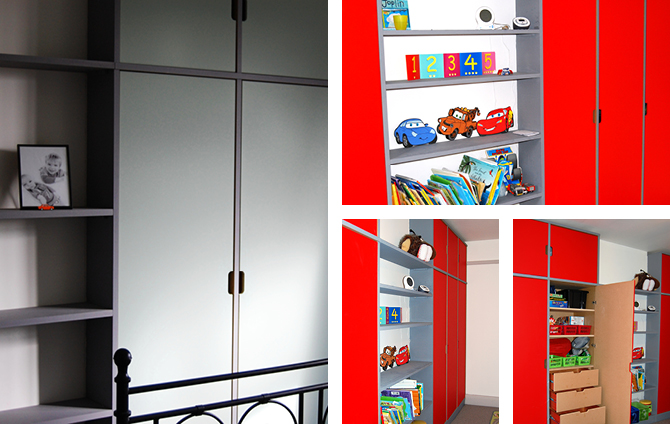 Bespoke children's bedroom storage